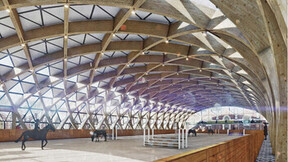 contest contribution - Concept-of-Ceiling_Palace Stables in Peterhof, Rockfon, RU