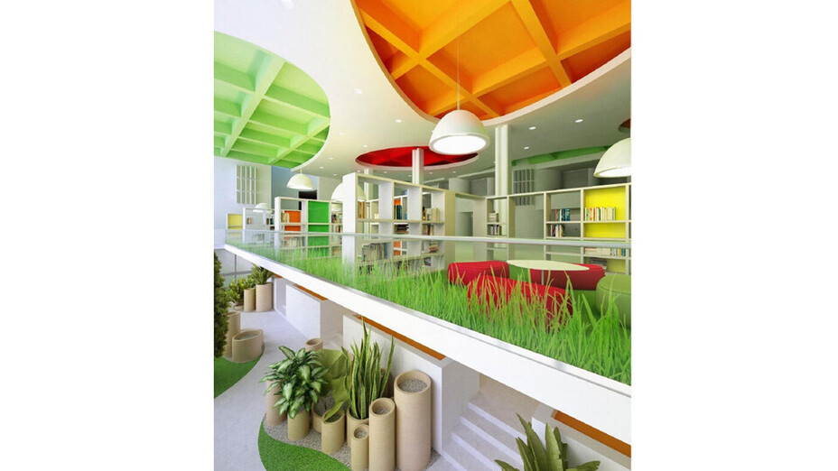 contest contribution - Concept-of-Ceiling_Federal State-Funded Educational Institution MGADMT, Rockfon, RU